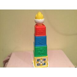 Kyпить VTG. FISHER PRICE NESTING/STACKING ACTIVITY BLOCKS CHICK COMPLETE DEVELOPMENTAL на еВаy.соm