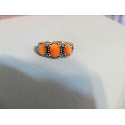 Kyпить NEW CAROLYN POLLACK AMERICAN WEST STERLING SILVER SPINY OYSTER  RING ~ SIZE 7 на еВаy.соm