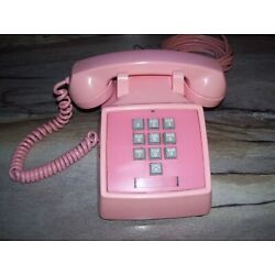 Kyпить Early 10 Button 1966 Touchtone Phone Bell System Western Electric in PINK! на еВаy.соm