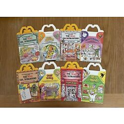Kyпить VTG Real Ghostbusters McDonalds Happy Meal Box 1987Complete Set Of 4 на еВаy.соm