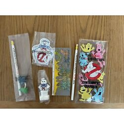 Kyпить McDonalds Real Ghostbusters School Items Lot Pencil, Ruler Eraser And More на еВаy.соm