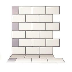 12''x12'' Peel Stick on Tile Self-Adhesive 3D Wall Stickers Tiles Home Room Decor