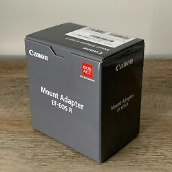 Kyпить ????BRAND NEW???? Canon EF-EOS R Lens Mount Adapter - For R5, R6, RP, R (EF To RF) на еВаy.соm