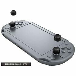 Cyber Gadget Cyber Analog Stick Cover High Type For Sony Ps Vita Black Japan New