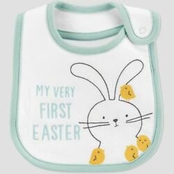 Kyпить Baby 'My First Easter' Bib - Just One You made by carter's White на еВаy.соm