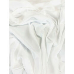 White 100% Cotton Voile Apparel Fabric Craft Sheer Light 57'' Wide By The Yard