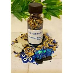 Protection Oil Remove Curses Hexes Evil Eye Oil Hoodoo BUY 1 GET 1 FREE Wiccan