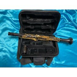 Backun Model F Professional Bb Clarinet Used, Cocobolo Wood with Gold Keys
