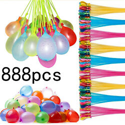 888 Pcs Bunch O Balloons style,Instant Water Balloons, Self-Sealing,Already Tied