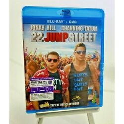 22 Jump Street Blu-ray/DVD, 2014, 2-Disc Set, Includes Digital New Sealed DS44