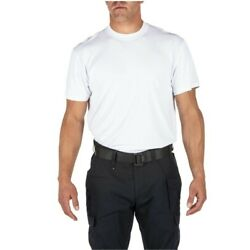 NEW 5.11 Tactical Series Utili-T Crew Neck T-Shirt 3 Pack WHITE Size Small M