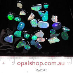Nobby opal from Lightning Ridge Black Opal Country, Opal Rough Parcel- Ro2843