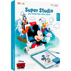 Osmo Super Studio Disney Mickey Mouse-Ages 5-11-Learn to Draw your fav Character