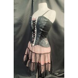 pastel Goth vintage raven sdl  Skull Corset Outfit  Outfit deadstock