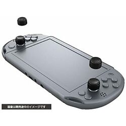Cyber Gadget Cyber Analog Stick Cover High Type For Sony Ps Vita Black New Japan