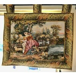 Fine Victorian Style Tapestry 42''x 38''  Very good condition