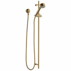 Brizo 85521-GL Euro 1.75 GPM Multi-Function Hand Shower Package, Luxe Gold