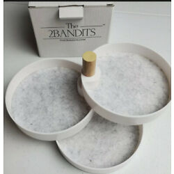 The 2 Bandits 3 Tiered Catchall Tray. New.  FREE SHIPPING