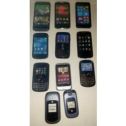 Cell Phone Prop / Display Dummy Model Toy Phone Lot Of 11 See Pictures