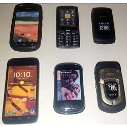 Kyocera Cell Phone Prop / Display Dummy Model Toy Phone Lot Of 6 See Pictures