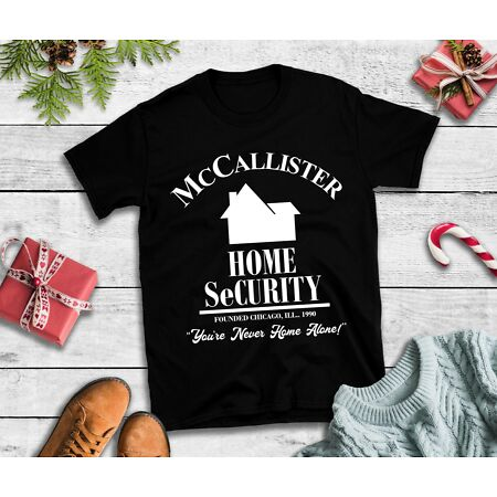 img-McCallister Home Security T-Shirt - Home Alone Film Xmas Tee Top Christmas
