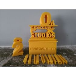 20th Century Fox Logos Puzzle   Movie Style Sign   3D Printed Custom Gift