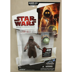 2009 Star Wars Legacy Collection Jawa & Security Droid BD39 Carded Figure New