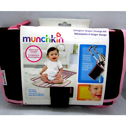 Munchkin Portable On the Go Travel Diaper Changing Kit Detachable Changing Pad