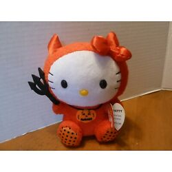 Ty Beanie Baby HELLO KITTY IN RED DEVIL COSTUME excellent with tags Rare plush