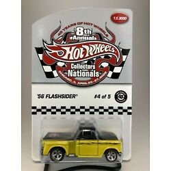HOT WHEELS '56 FLASHSIDER 2008 8TH. ANNUAL COLLECTORS NATIONALS 1 OF 3000 1/64