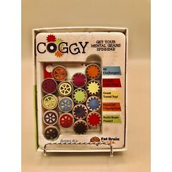 COGGY by Fat Brain Toys Game Puzzle Problem Solving Gears Ages 6+. Brand New!