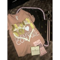 Juicy Doggy DaRLinG Couture Dog Puppy Shirt Sz Small w/Tags Bag Hanger