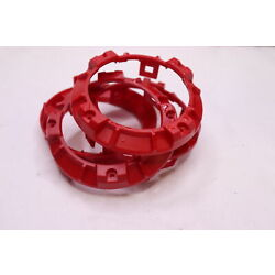 AJT Design Vent Rings Red 00207