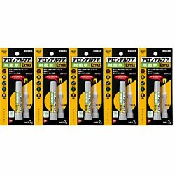 Bond Aron Alpha EXTRA Impact Resistant 2g # 04655 5 Pack New from Japan
