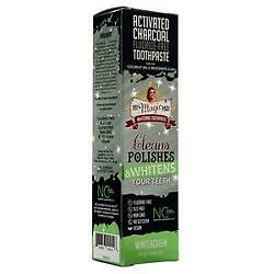 My Magic Mud Activated Charcoal Toothpaste - Fluoride Free Wintergreen 4 oz