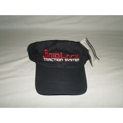 Grid Lock Traction System Hat Black with Embroidered Logo Adjustable Cap America