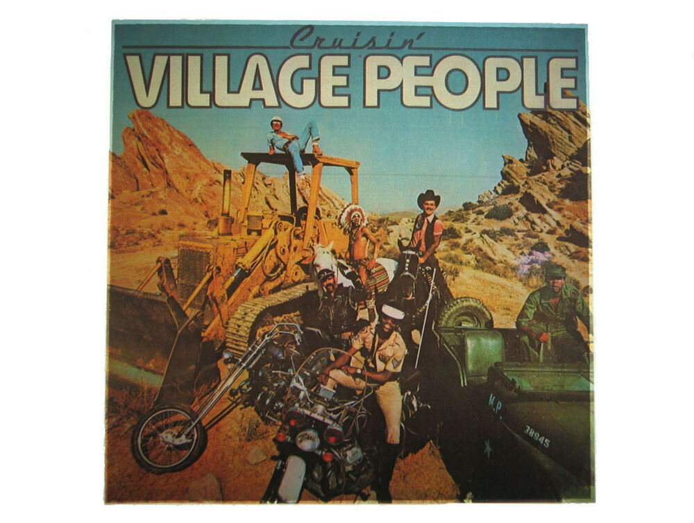 Vintage 70 39 s village people iron on t shirt transfer ebay for 70 s t shirt transfers