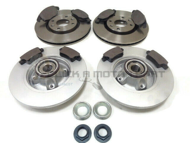 citroen c4 grand picasso front rear brake discs pads wheel bearings abs rings ebay. Black Bedroom Furniture Sets. Home Design Ideas