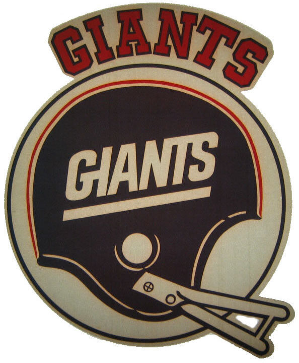 Vintage 70 39 s nfl ny giants iron on t shirt transfer ebay for 70 s t shirt transfers