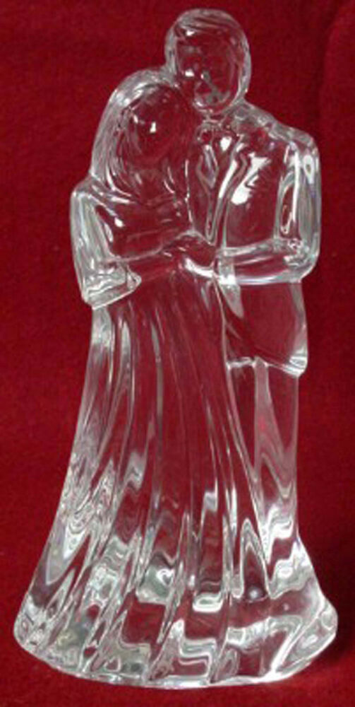 waterford crystal wedding cake topper waterford giftware wedding collection 21672