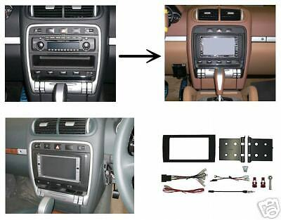 Porsche cayenne double din dash kit ebay Porsche cayenne interior parts