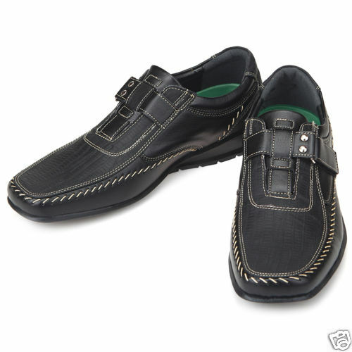 Top Band Black Casual Dress Loafers Mens Shoes US 10.5 | eBay