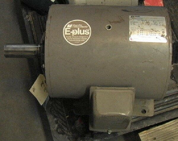 15hp 3 Phase S254t Frame Electric Motor 230 460 1750rpm Ebay