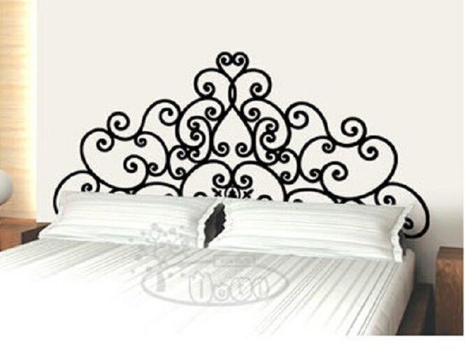 Wall Decor Decal Sticker Removable Vinyl Headboard Ebay