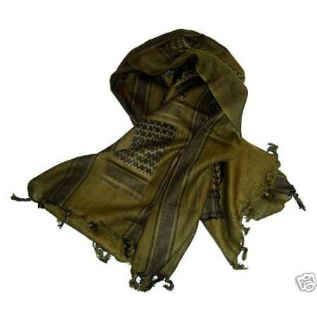 img-MILITARY SHEMAGH SCARF ARMY ISSUE TA Arab SAS Soldier Survival 100% Cotton Olive