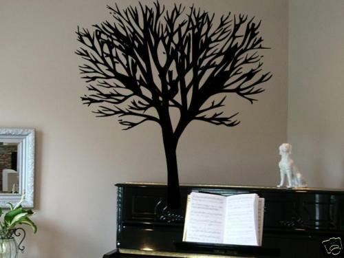 Large Tree Classic Wall Art Decal Decor Vinyl 24 Quot X 36 Quot Ebay