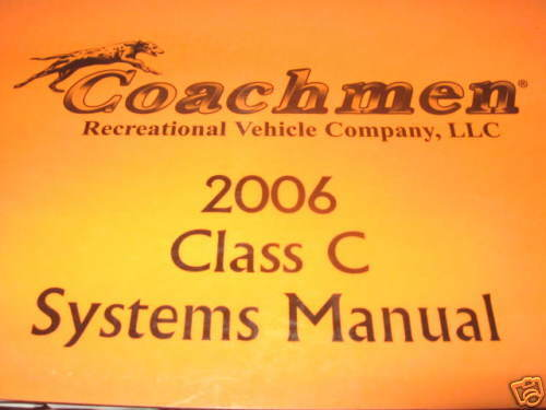 s l1000 2006 coachmen systems manual freelander 3150 so ebay 2017 Coachman Freelander at bayanpartner.co