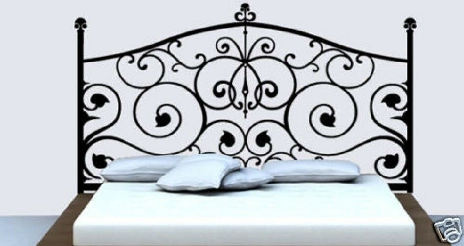 Wall Decor Decal Sticker Removable Vinyl Headboard A02 Ebay