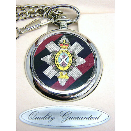 img-THE BLACK WATCH GIFT BADGE POCKET WATCH FREE KEYRING ARMY MILITARY BOXED & CHAIN