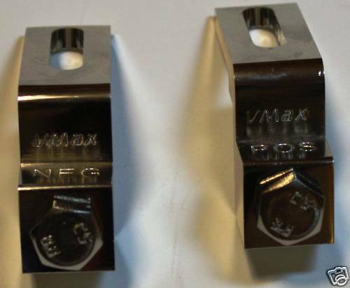 Top Post To Front Post Battery Terminal Adapter Pair Ebay